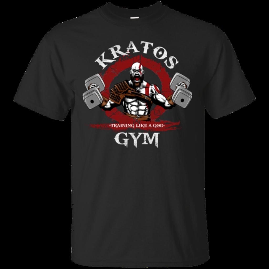 Pop-Up Tee: Kratos Gym