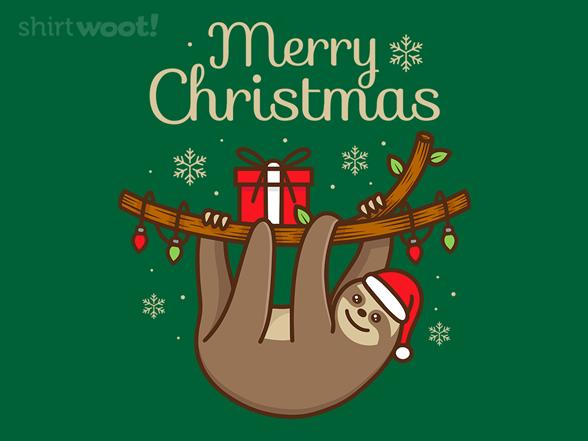Woot!: Happy Slothidays