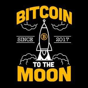 BustedTees: Bitcoin To The Moon