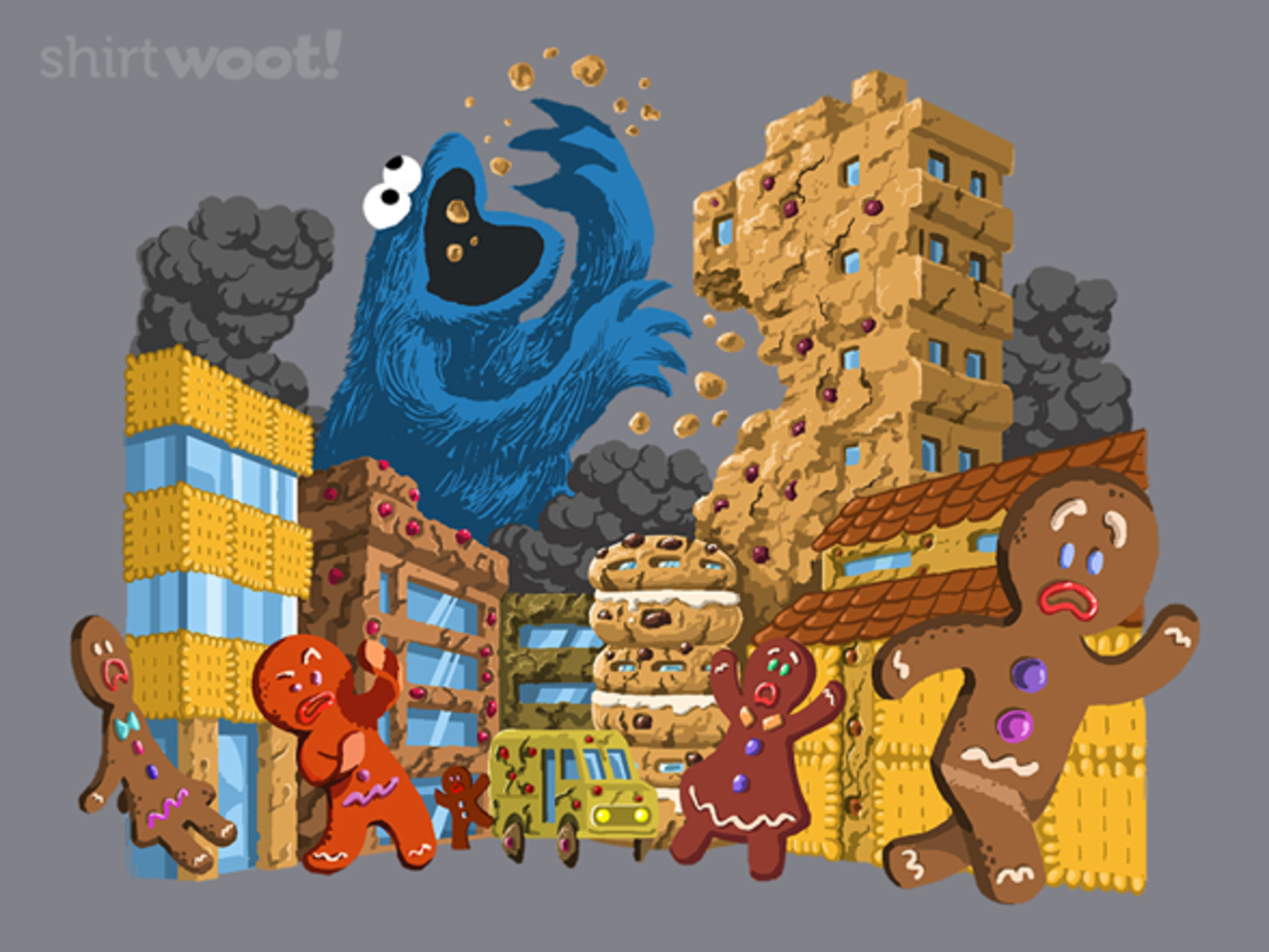 Woot!: Attack in Cookie Town
