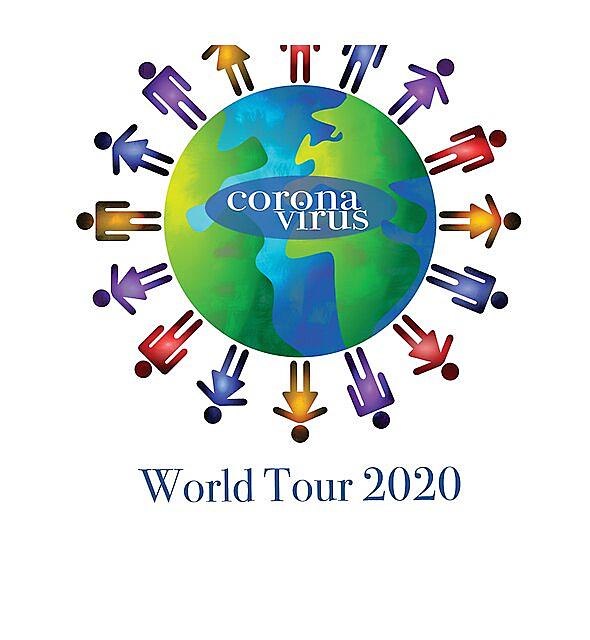 RedBubble: Coronavirus World Tour 2020