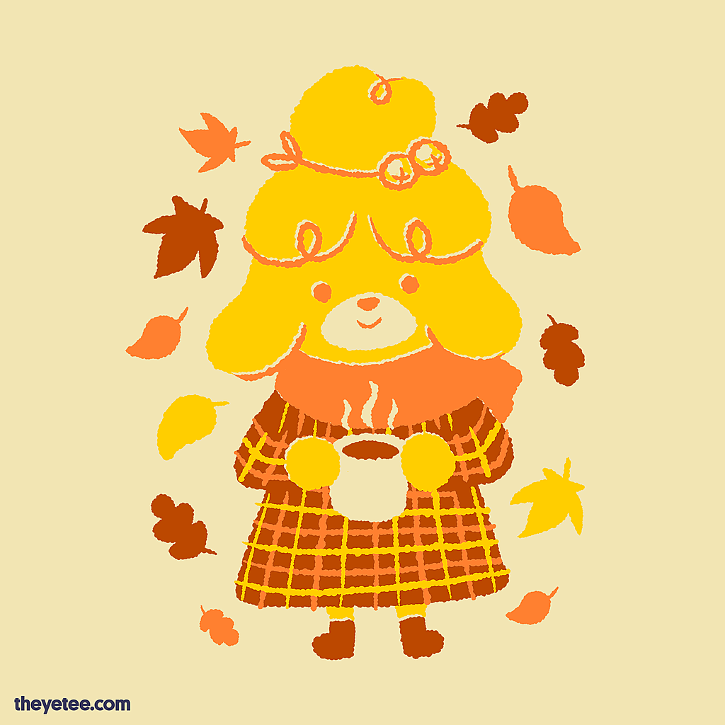 The Yetee: Pumpkin Spice Neighbor