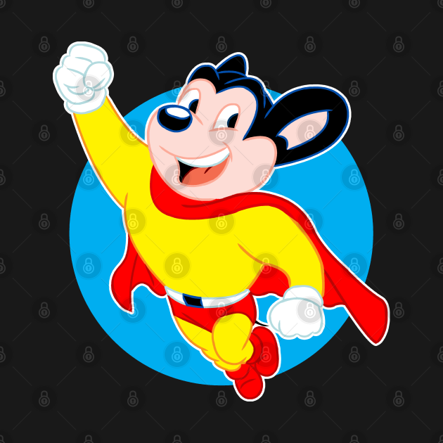 TeePublic: Mighty Mouse