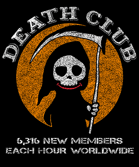 Qwertee: DEATH CLUB