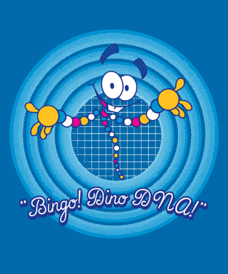 Qwertee: Bingo! Dino DNA!