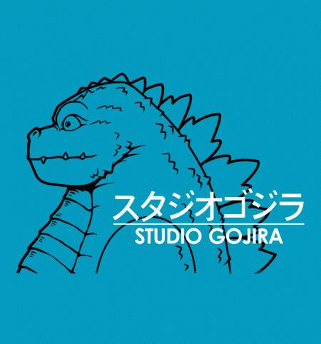 BustedTees: Studio Gojira