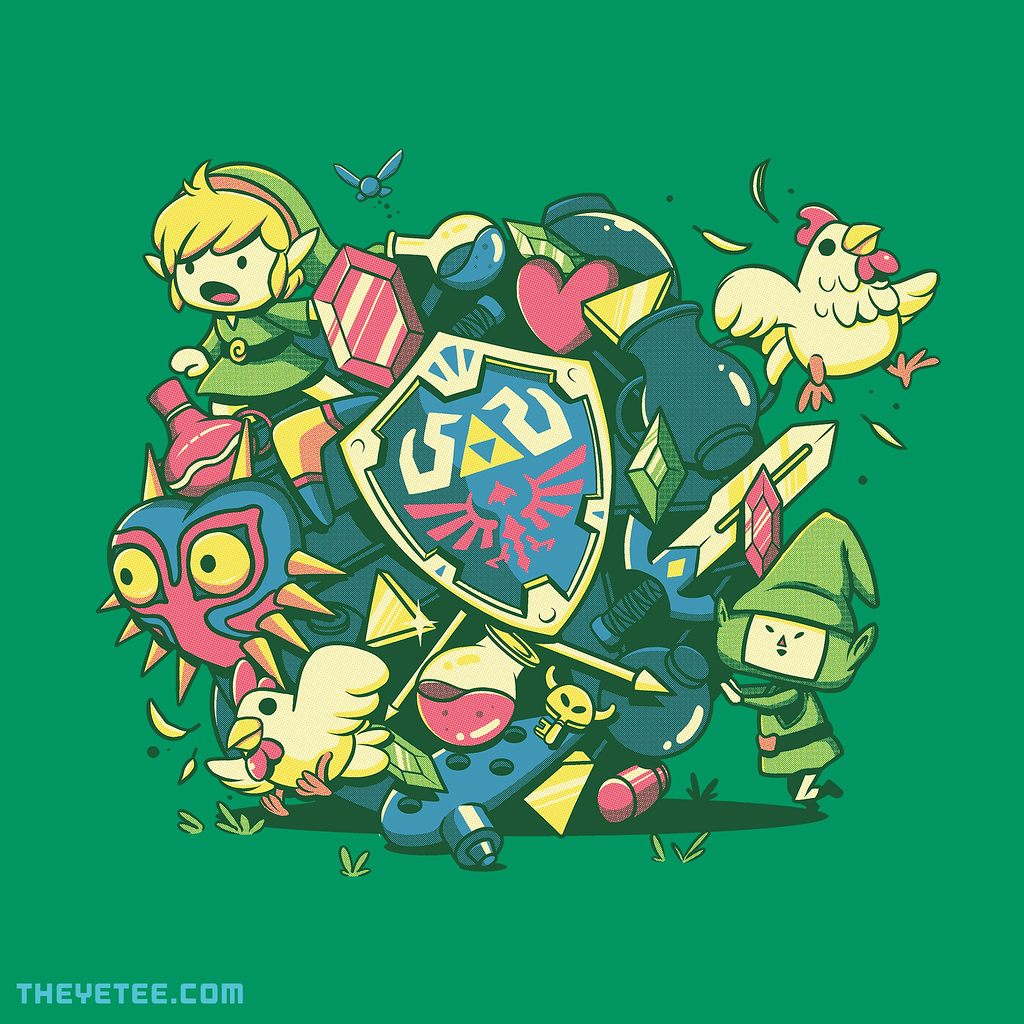 The Yetee: Let's Roll Link