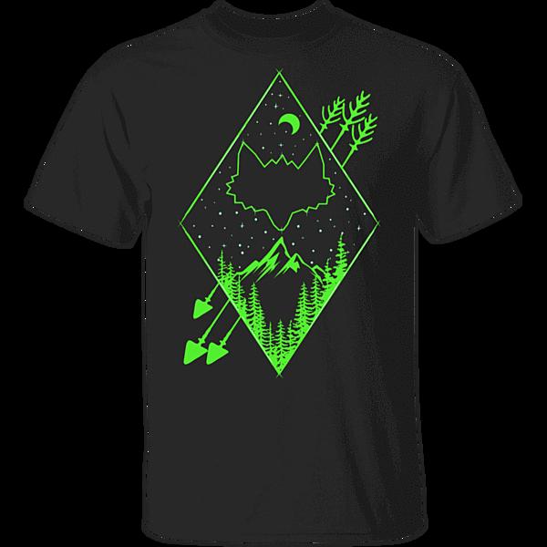 Pop-Up Tee: Diamond Fox Arrows