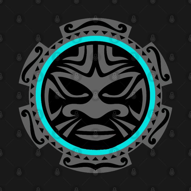 TeePublic: POLYNESIAN MASK 8