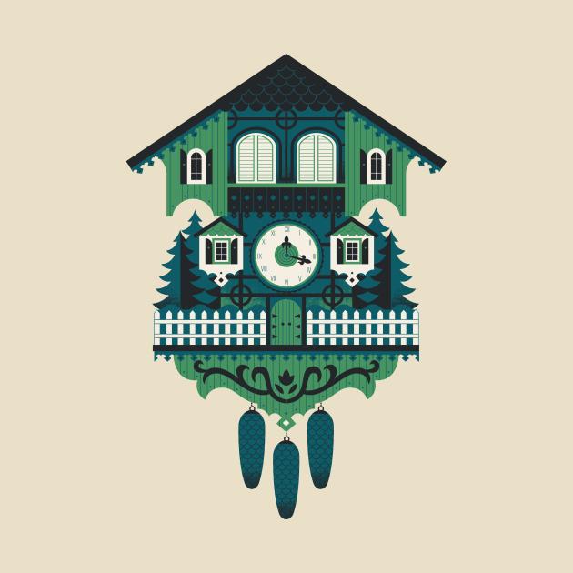 TeePublic: Cuckoo Clock