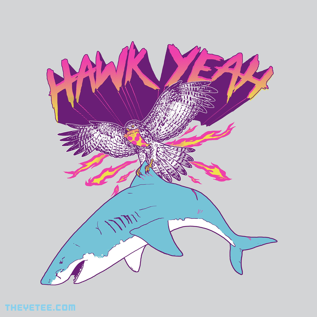 The Yetee: Hawk Yeah