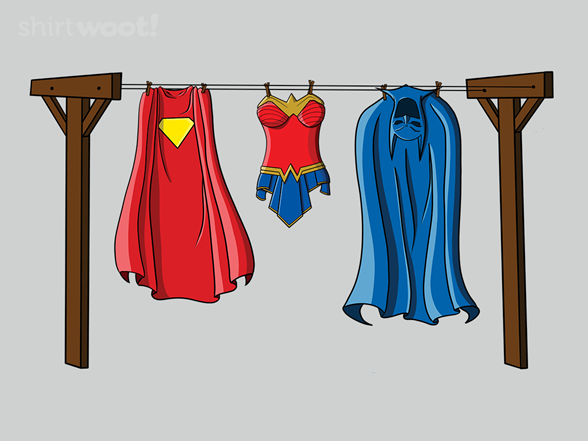 Woot!: It's a Bird, It's a Plane, It's Laundry Day!