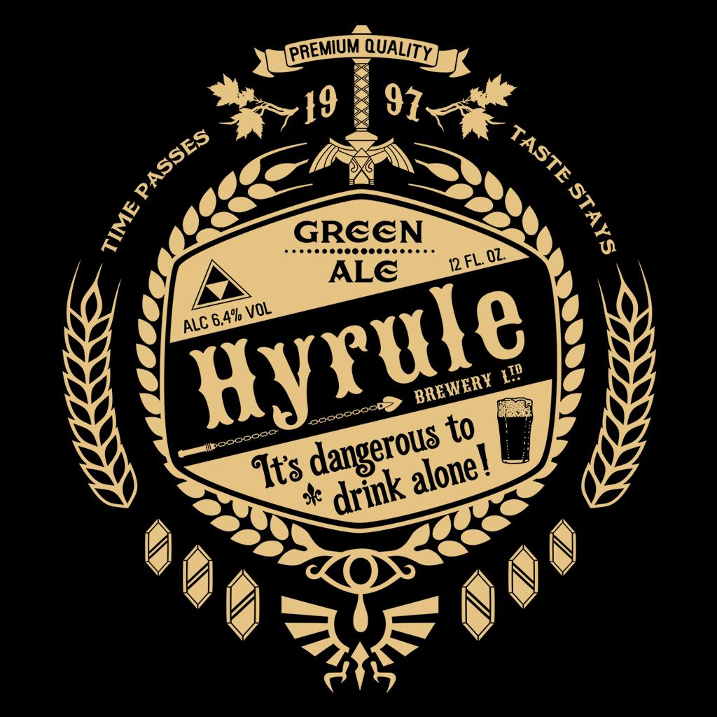 Pop-Up Tee: Hyrule Green Ale