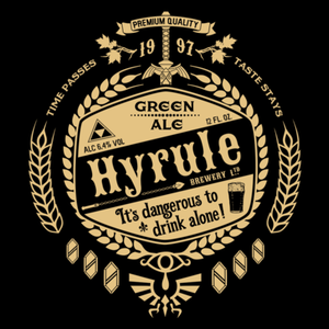 Pop-Up Tee: Hyrule Green Ale