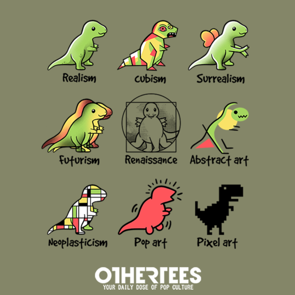 OtherTees: T-rex art