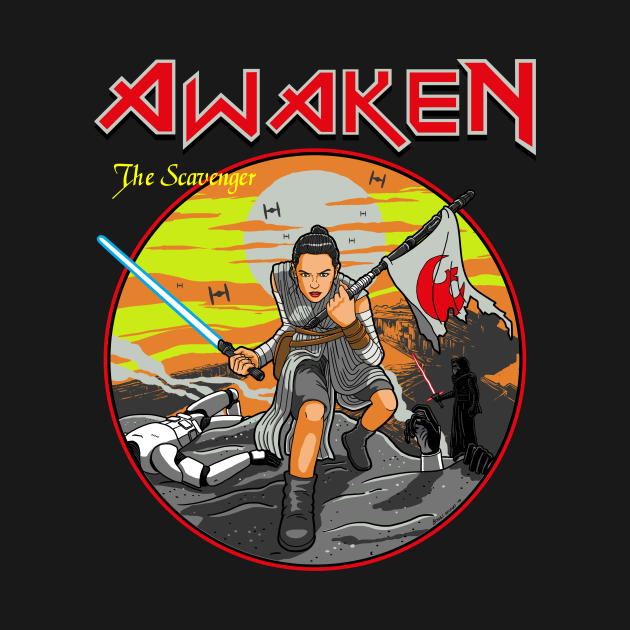 TeePublic: Awaken the Scavenger