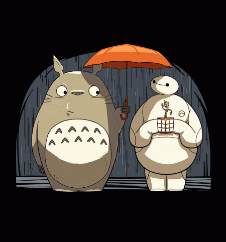 BustedTees: Totoro's New Neighbors