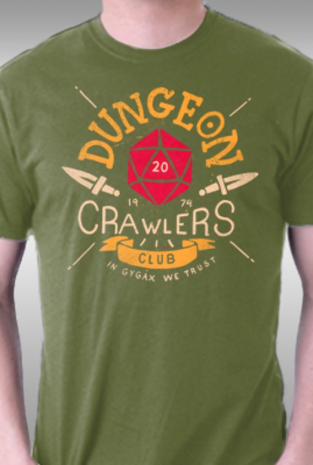 TeeFury: Dungeon Crawlers Club