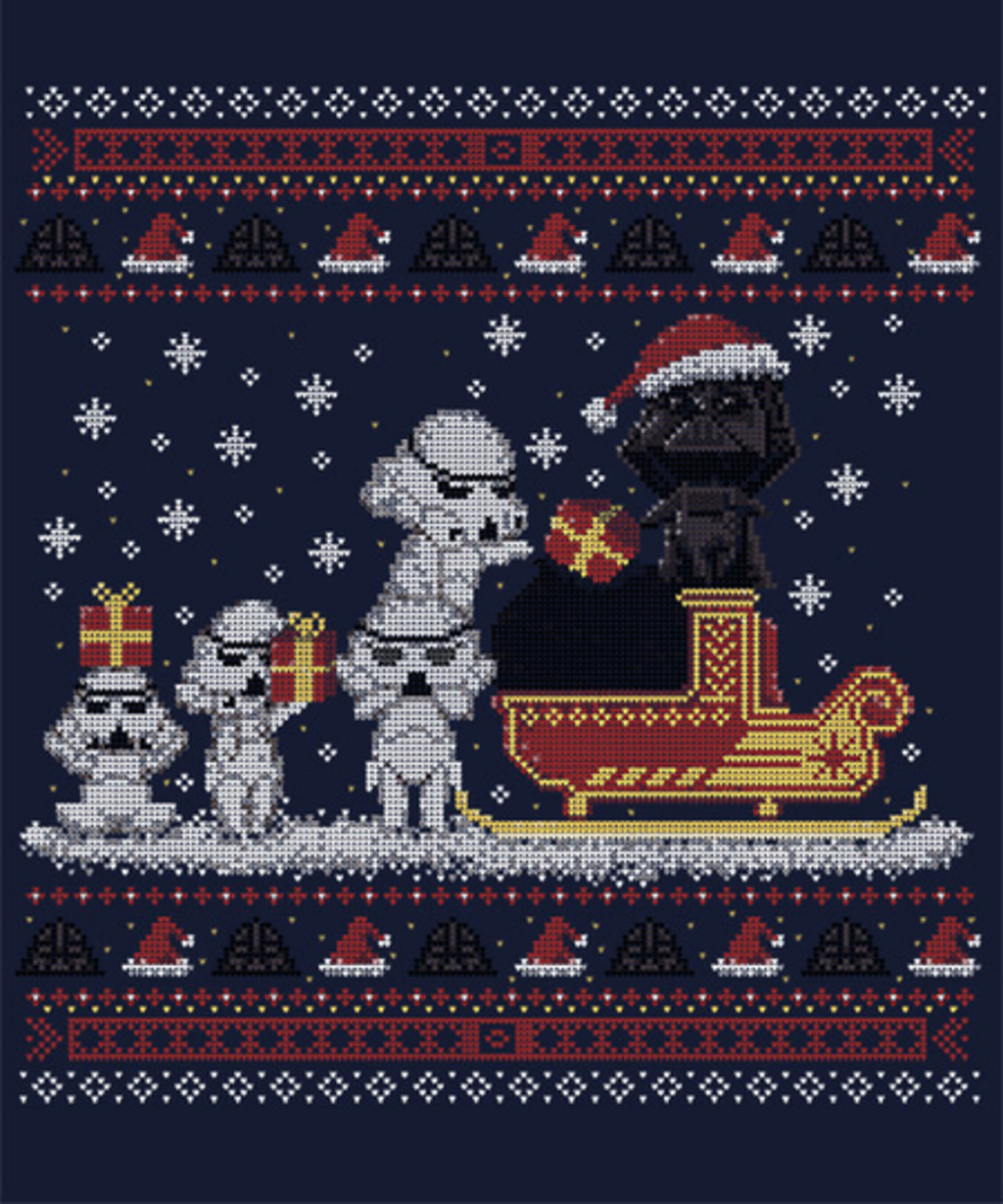 Qwertee: Star Christmas