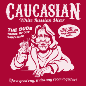 Pop-Up Tee: Caucasian Mixer