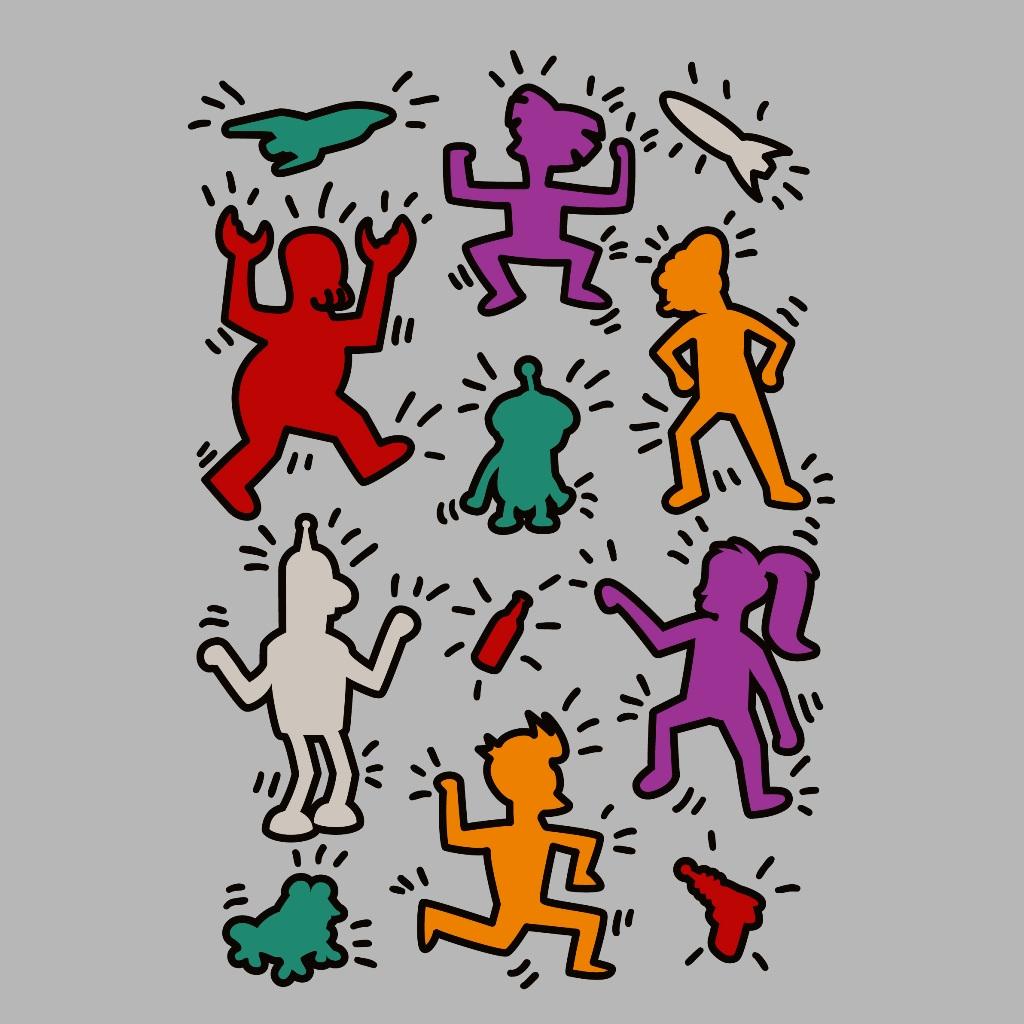 TeeTee: Haring Futurama