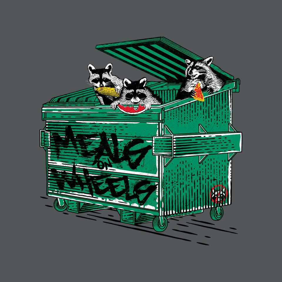 TeeFury: Meals On Wheels