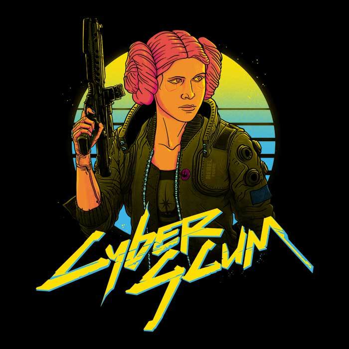 Once Upon a Tee: Cyberscum 1977
