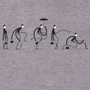 Qwertee: Ministry of Silly Walks