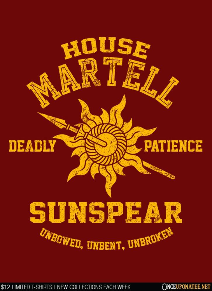 Once Upon a Tee: Unbowed. Unbent. Unbroken.