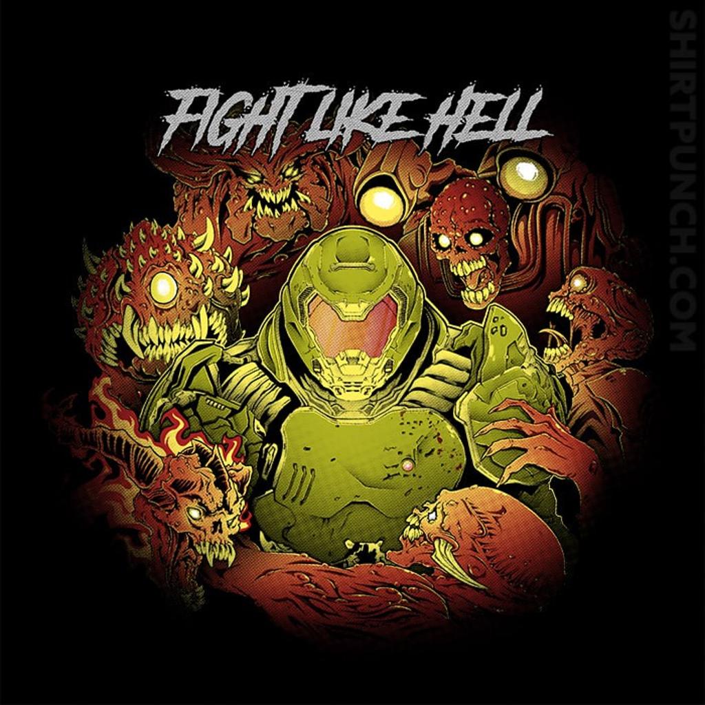 ShirtPunch: Fight Like Hell