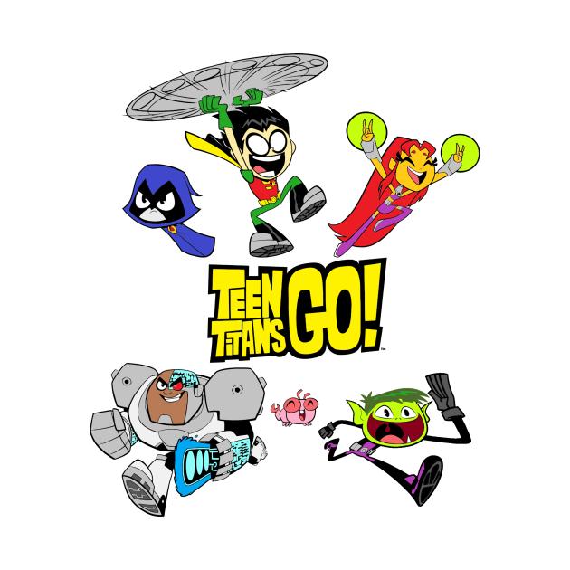 TeePublic: Teen Titans Go! Cast
