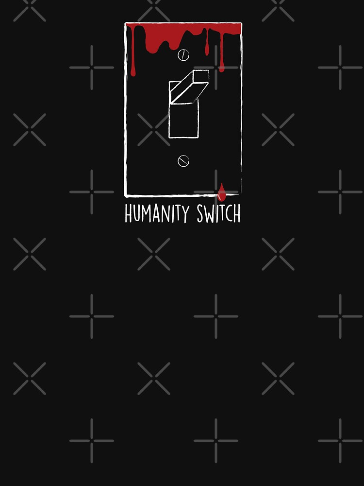 RedBubble: Humanity Switch (for dark backgrounds)