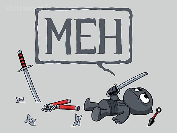 Woot!: Apathetic Ninja
