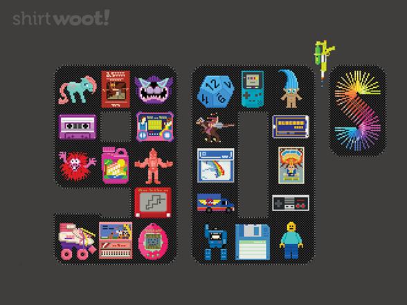 Woot!: 90s Pixelart