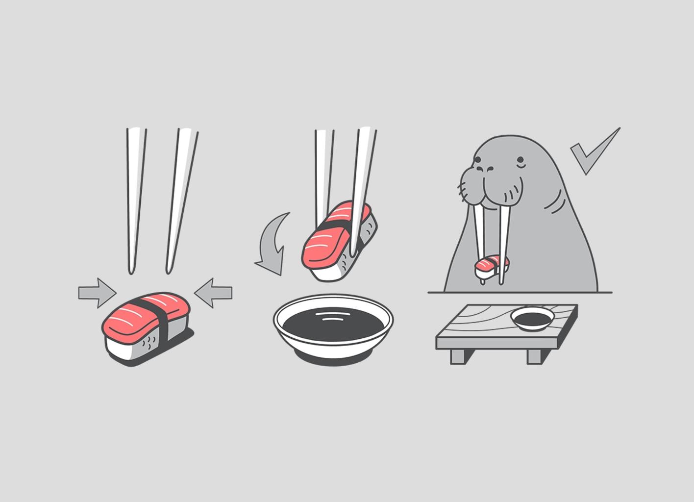 Threadless: Sushi Lover