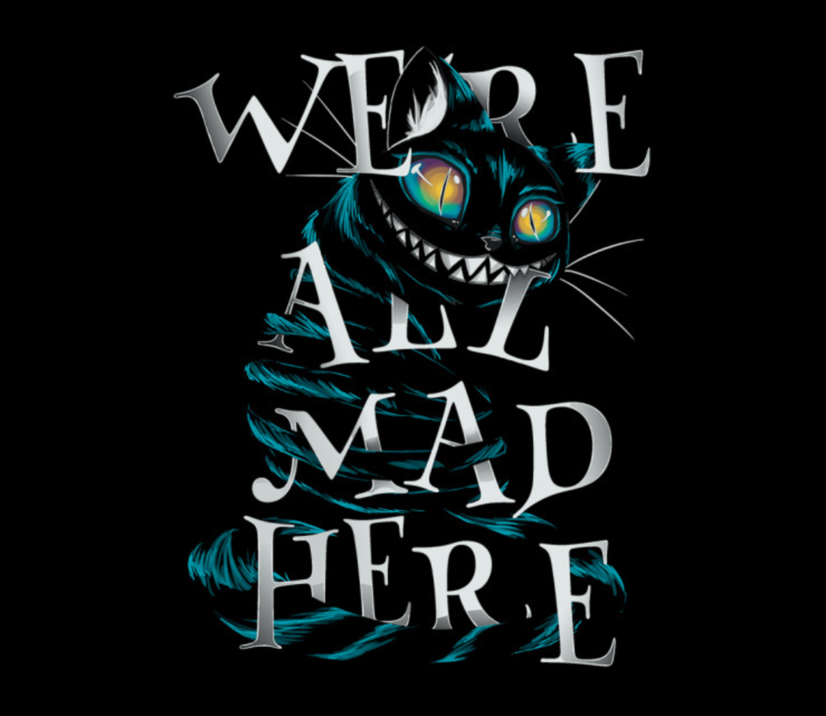 TeeFury: Mad Cat