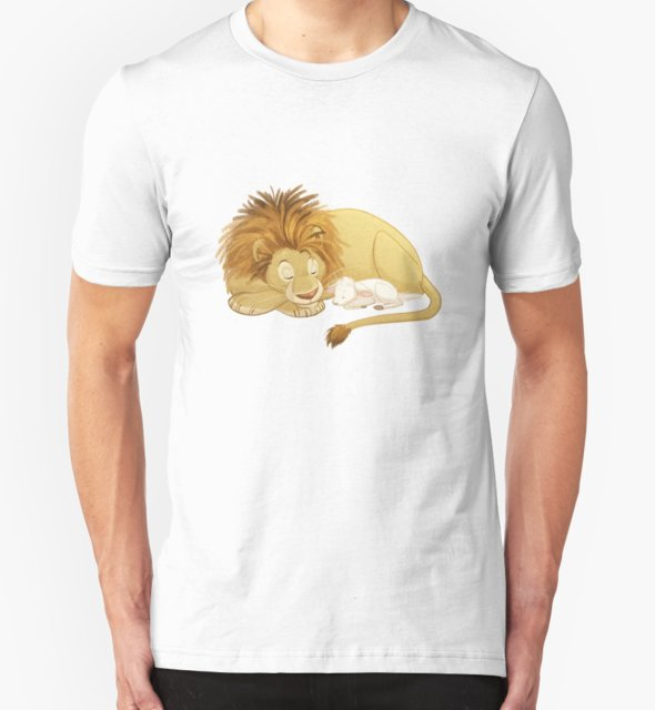 RedBubble: Lion and Lamb