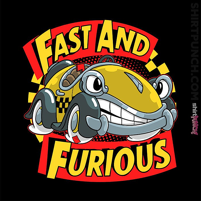 ShirtPunch: Fast And Furious