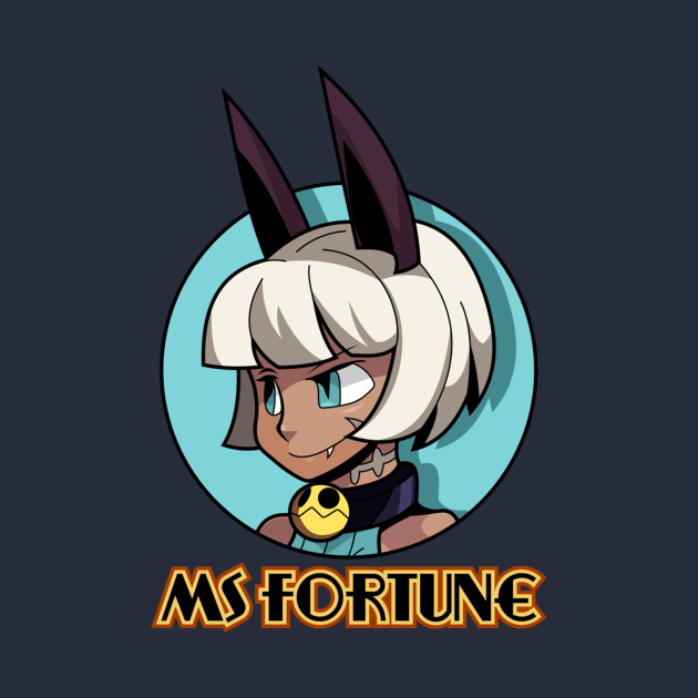 TeePublic: Ms. Fortune - Skullgirls