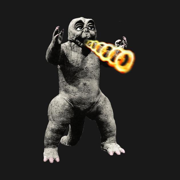 TeePublic: Baby Godzilla Minya Minilla