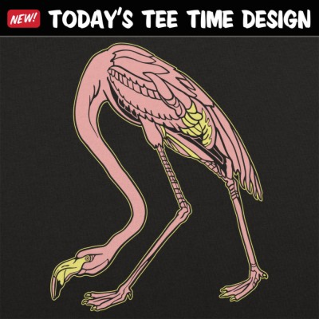 6 Dollar Shirts: Audubon Flamingo