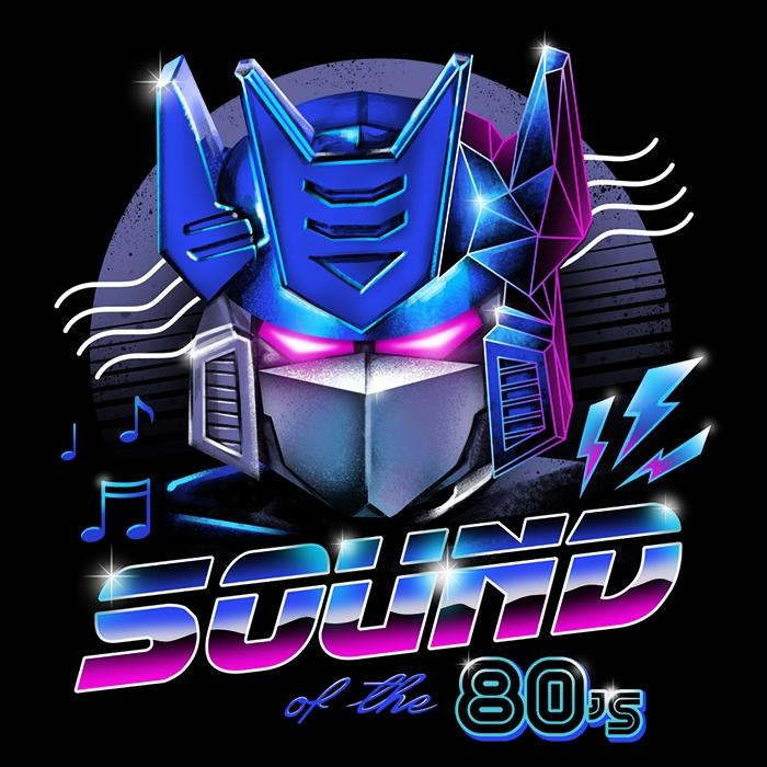 Once Upon a Tee: Sound of the 80's