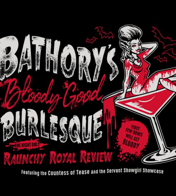 teeVillain: Blood Good Burlesque