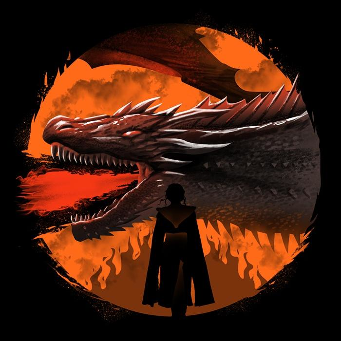 Once Upon a Tee: Dracarys (Alt)