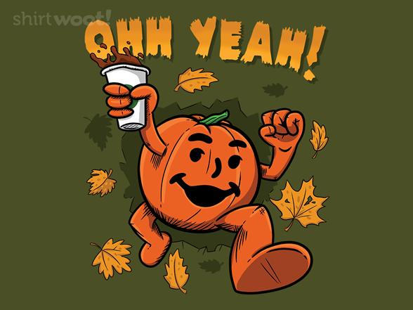 Woot!: Pumpkin Spice Man