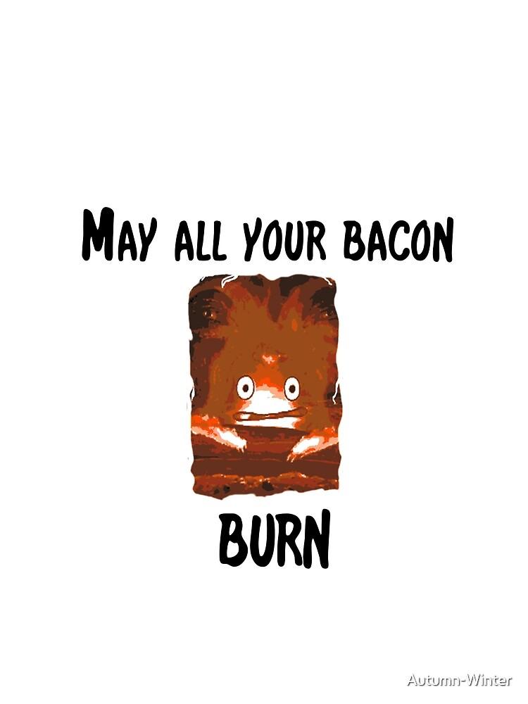 RedBubble: Burning Bacon