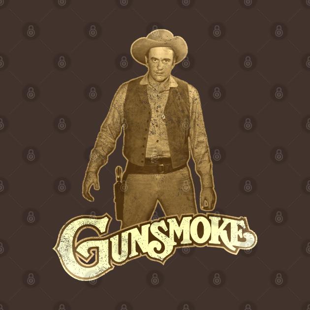 TeePublic: Gunsmoke: James Arnes [Vintage Distressed]