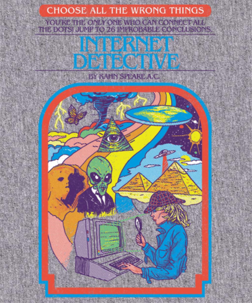 Qwertee: Internet Detective