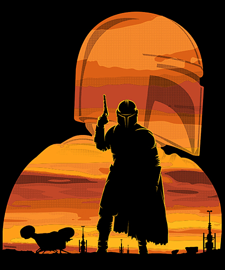Qwertee: Gunfighter has landed