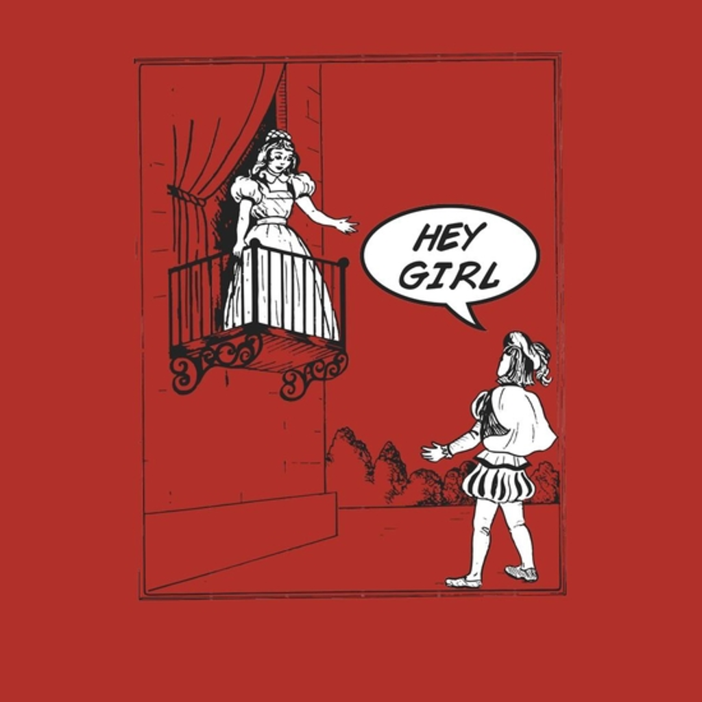 BustedTees: Modern Romeo and Juliet